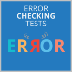 Error checking tests